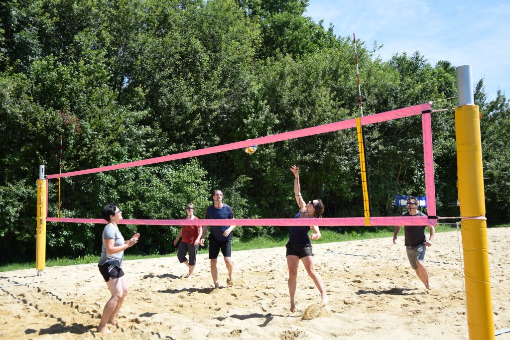 Beachvolleyball-Turnier am Sonntag, den 16. Juli 2017