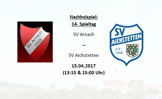 Nachholspiel – Nachlegen gegen den SV Aichstetten!