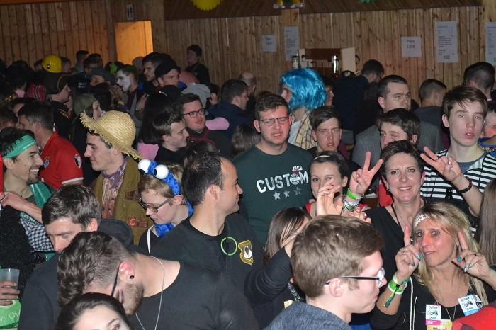 Super Stimmung bei der Sportler Party Nacht
