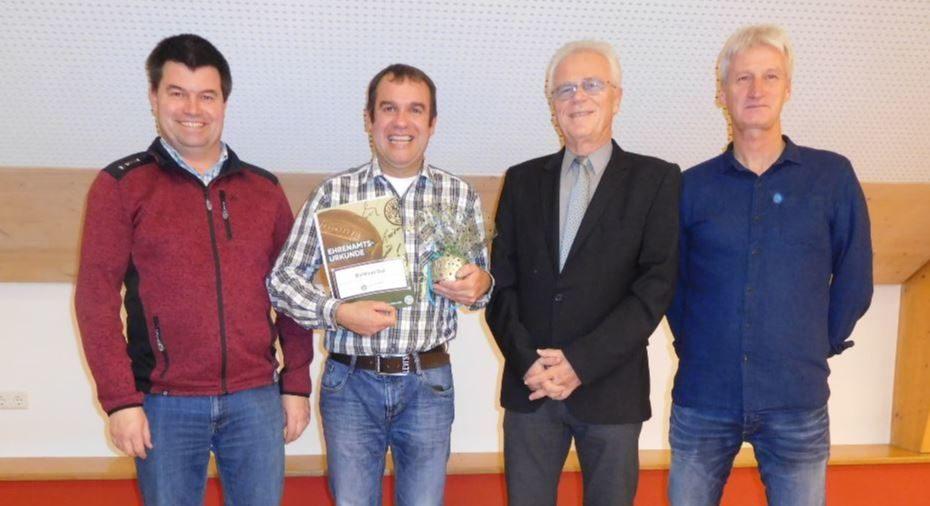 DFB-Ehrenamtspreis 2018 für Berthold Ruf