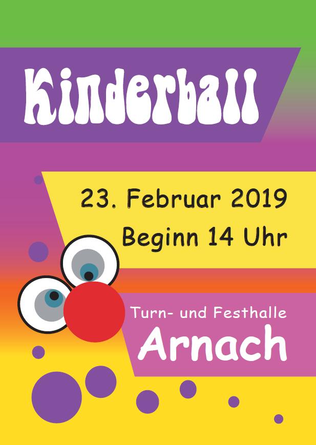 Kinderball beim SV Arnach