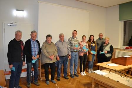 Mitgliederversammlung des SV Arnach 2019