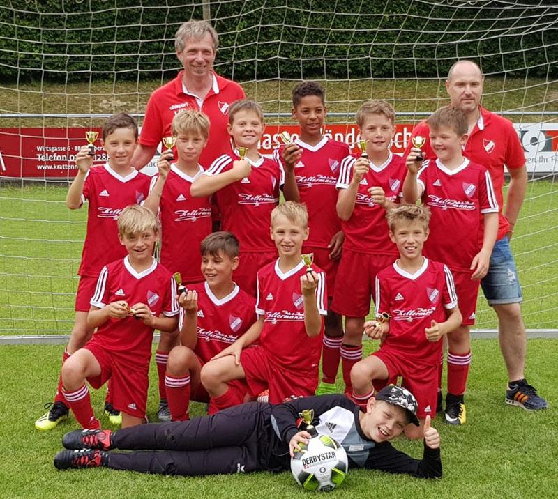 E-Jugend siegt beim Sommer Cup des SV Oberzell